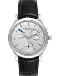 Jaeger-lecoultre Silver Stainless Steel Reserve De Marche 140.8.38.s Q1488404 Wristwatch 37 Mm - Metallic