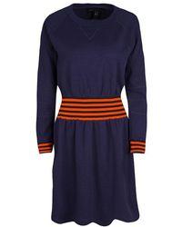 Marc By Marc Jacobs - Saddle Sleeve Sweatshirt Dress M - Lyst