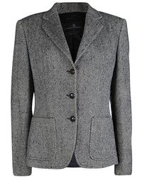 CH by Carolina Herrera - Monochrome Herringbone Skirt Suit L - Lyst