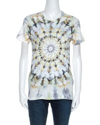 Dior Christian Multicolour Printed Kalei Scopic T-shirt S