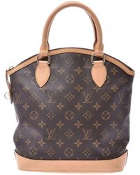 Louis Vuitton Monogram Lockit Vertical Bag - Brown