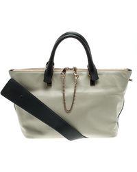 Chloé Black/beige Leather