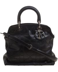 Dior - Cannage Quilted Leather Granville Tote - Lyst