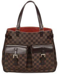 Louis Vuitton - Damier Ebene Canvas Uzes Bag - Lyst