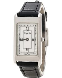 Tiffany & Co. - White Stainless Steel Classic Women's Wristwatch 20 Mm - Lyst