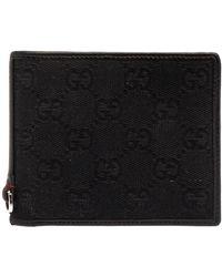 Gucci Monochrome Bi-fold Wallet - Black