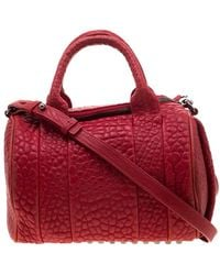Alexander Wang Red Leather