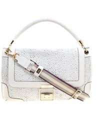 Anya Hindmarch - White Leather - Lyst
