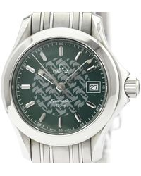 Omega Seamaster Green Steel Watches