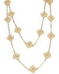 Van Cleef & Arpels 20 Motifs 18kt Yellow Gold Alhambra Necklace