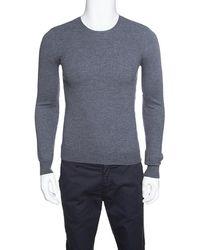 13bd0e5bc5af Lyst - Burberry Brit Beardsley Merino Vneck Sweater in Gray for Men