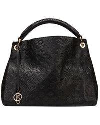 Louis Vuitton Noir Python Limited Edition Artsy Mm Bag - Black