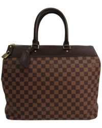 Louis Vuitton - Damier Ebene Canvas Greenwich Pm Bag - Lyst