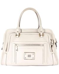 Anya Hindmarch Beige Leather Satchel - Natural