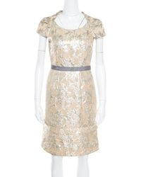 Marc By Marc Jacobs \n Beige Cotton Dress - Natural