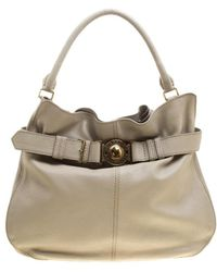 Burberry - Light Leather Lambeth Hobo - Lyst