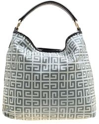 Givenchy Grey Cloth Handbag - Gray