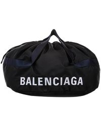 Balenciaga Black Nylon
