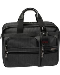 Tumi Grey Nylon Gen 4.2 Expandable Organizer Laptop Briefcase