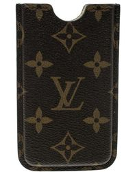 Louis Vuitton Monogram Canvas Iphone 4 Hardcase Cover - Brown