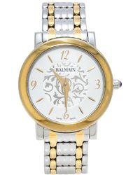 Balmain Silver Two-tone Stainless Steel Elegance Chic Mini B1692.39.14 Women's Wristwatch - Metallic
