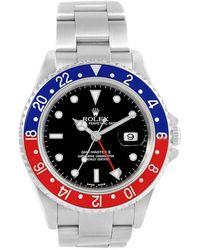 Rolex - Stainless Steel Gmt Master Ii Men's Wristwatch 40mm - Lyst