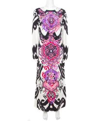 Emilio Pucci Silk Maxi Dress - Multicolour
