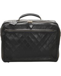 Chanel Black Leather Timeless Business Bag