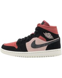 Nike Jordan 1 Mid Canyon Rust Trainers - Multicolour