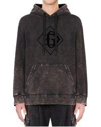 Dolce & Gabbana Grey Distressed-effect Hoodie