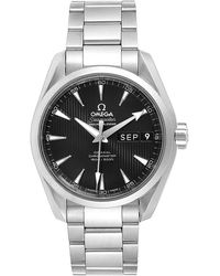 Omega Black And Stainless Steel Seamaster Aqua Terra 231.10.39.22.01.001 Men's Wristwatch 38.5mm