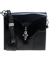 Proenza Schouler Leather Handbag - Black