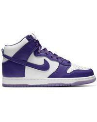 Nike Dunk High Varsity Purple Sneakers Us
