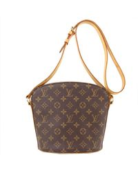 Louis Vuitton - Monogram Canvas Drouot Bag - Lyst