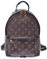 Louis Vuitton Monogram Canvas Palm Springs Backpack - Brown
