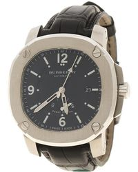 Burberry - Stainless Steel The Britain Bby1002 Men's Wristwatch 45 Mm - Lyst