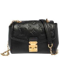 Louis Vuitton Black Empreinte Leather Saint Germain Bb Bag