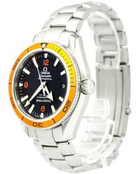 Omega - Stainless Steel Seamaster Planet Ocean Men's Wristwatch 42mm - Lyst