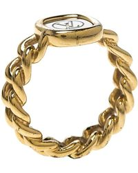 Louis Vuitton - Id Two Tone Ring - Lyst