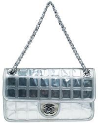 a38f2de7e9c0 Chanel - Leather Ice Cube Limited Edition Flap Bag - Lyst