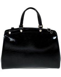 Louis Vuitton - Black Electric Epi Leather Brea Mm Bag - Lyst