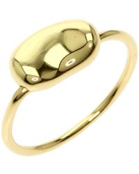 Tiffany & Co. Elsa Peretti 18k Yellow Gold Bean Ring