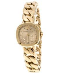 Burberry - Plated Steel Bby1952 Women's Bracelet Watch 18 Cm - Lyst