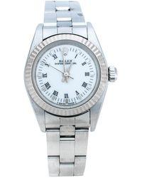Dior Grey Tantalum Stainless Steel Diamond Royal Oak Championship 56175tt.o.0789tt.01 Women's Wristwatch 33 Mm