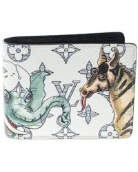 Louis Vuitton - Monogram Savane Canvas Chapman Brothers Multiple Bifold Wallet - Lyst