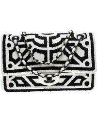 Chanel Timeless/classique White Leather Handbag