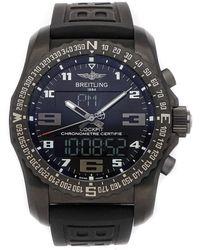 Breitling Black Titanium Cockpit B50 Vb501022/bd41 Wristwatch 46 Mm
