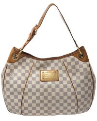 Louis Vuitton Damier Azur Canvas Galliera Pm Bag - Multicolor