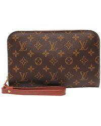 Louis Vuitton Monogram Orsay Bag - Brown