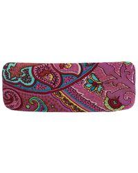 Etro Printed Fabric Barrette Hair Clip - Multicolour